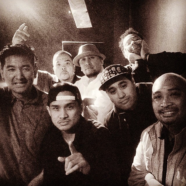 Vinroc, Shortkut, Fran Boogie, Mike Baker, Swiftrock, and Prince Aries   Photo by Mr E