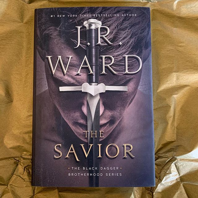 IT'S HERE!!!!! . . I'm so sad I'll miss The Warden's event this weekend but this book lessens the sting. And I'm a wee bit excited for KissCon. So that helps as well. . . Off to my reading cave! . . Who else is excited about The Savior!?!?!? . . #thesavior #jrward #blackdaggerbrotherhood #vampires #biblio #bibliophile #mybookfeatures #literarylovebooks #books #bookish #bookishfeatures #booklife #bookworm #soexcited #bookjunkie #bookaddiction #bookaddict #bookobsessed #booksbooksbooks #bookhoarder @jrwardauthor