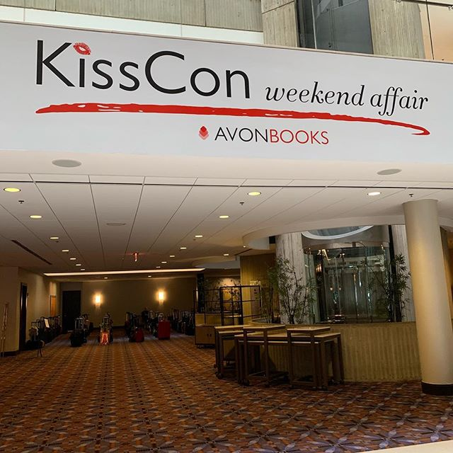 First day of #kisscon is over!!!! I had so much fun! I made some friends, discovered new authors, and just had the best time ever!!!! I didn't take many pictures though. I will make up for it tomorrow! . . Also, I ate ice cream with @sallythorneauthor so life made! . . #bibliophile #soexcited #bookobsessed #bookcon #readromance #avonbooks #bookish #literarylovebooks #readbliss @avonbooks