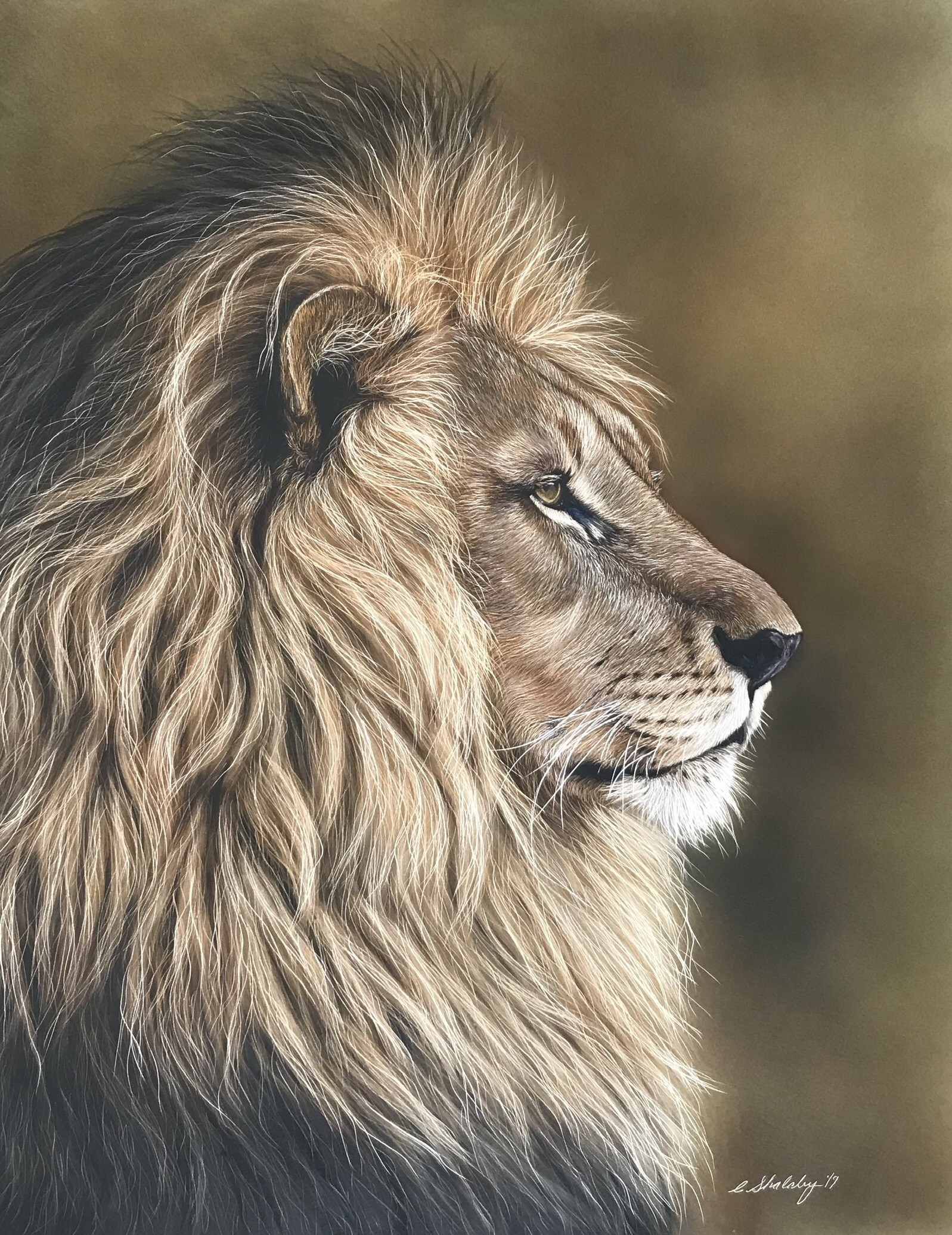 """Profile of a King"""