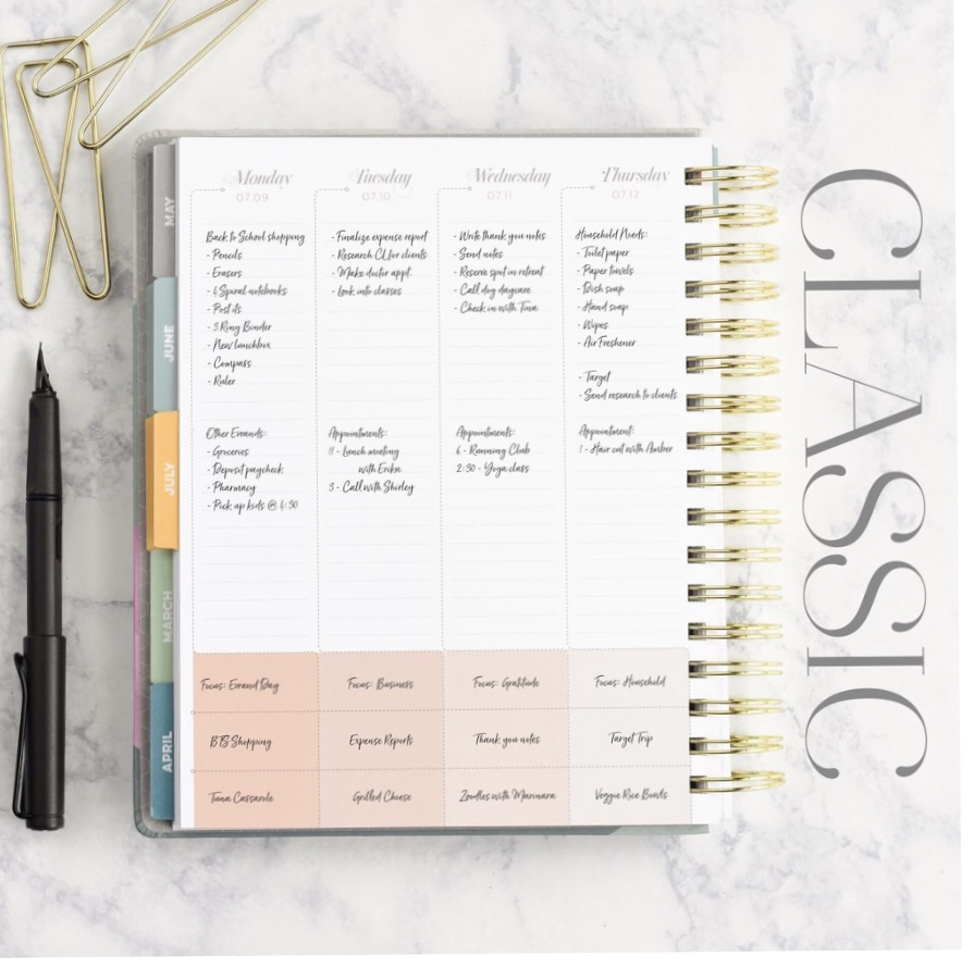 Inkwell Press Classic Planner