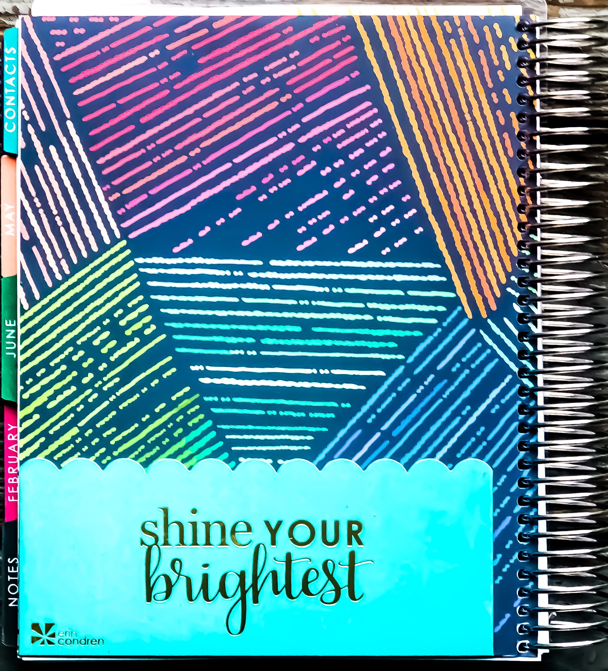 How to properly set up you new 2019 Erin Condren Life Planner.