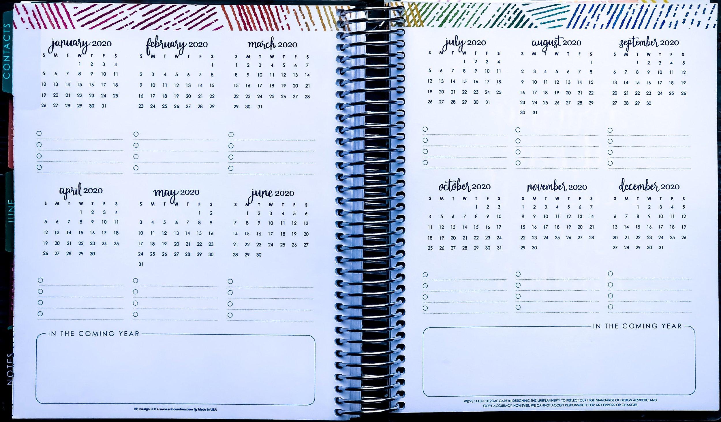 How To Set Up Your New Erin Condren Life Planner