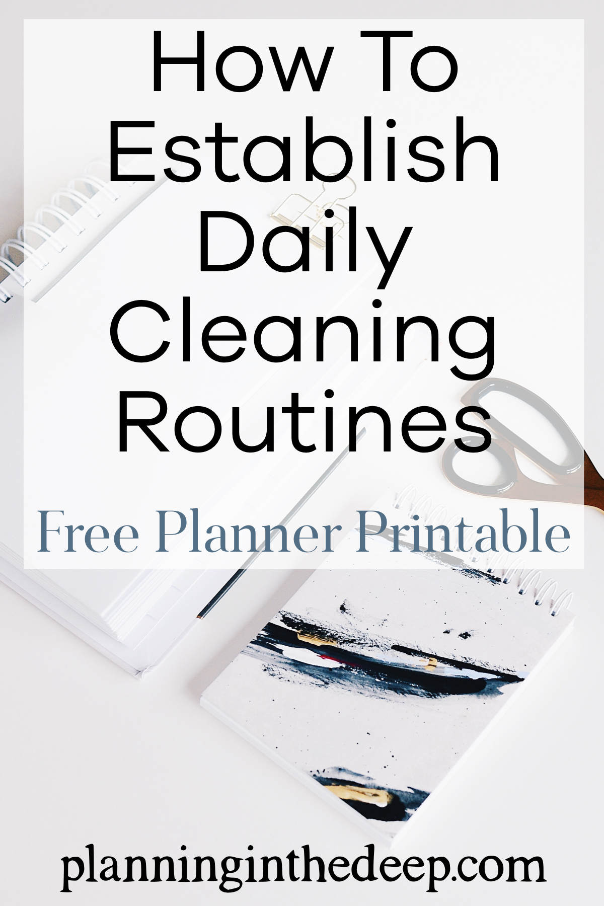 Cleaning Routine Checklist