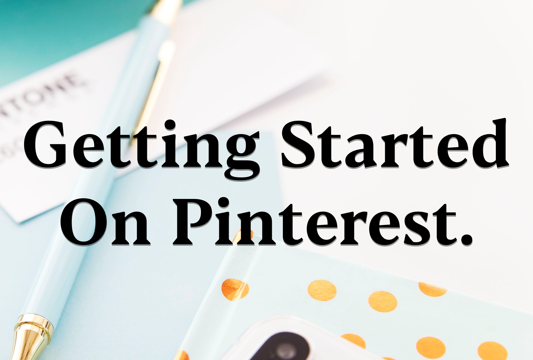 How To Set Up your Pinterest business account.