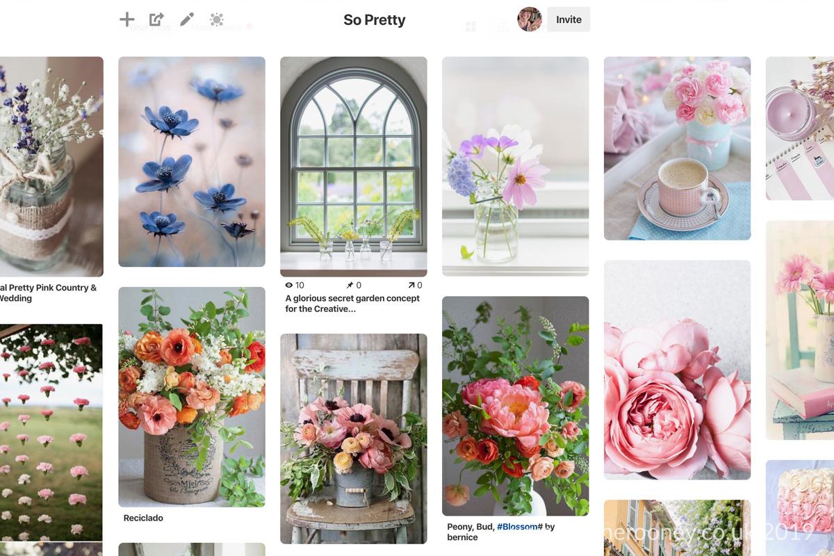 Diane Rooney So Pretty Pinterest Board 2019