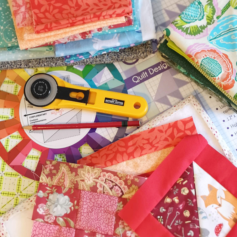 Diane Rooney Colour, Design and Quilt Workshop 19th and 26th January 2019 The Sewing Studio.