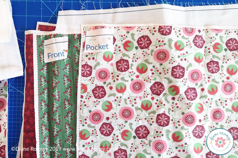 Diane Rooney Christmas Fabric Panel 2019