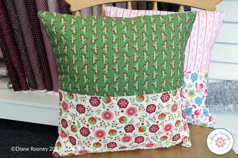 Diane Rooney Christmas Cushion Fabric Panel