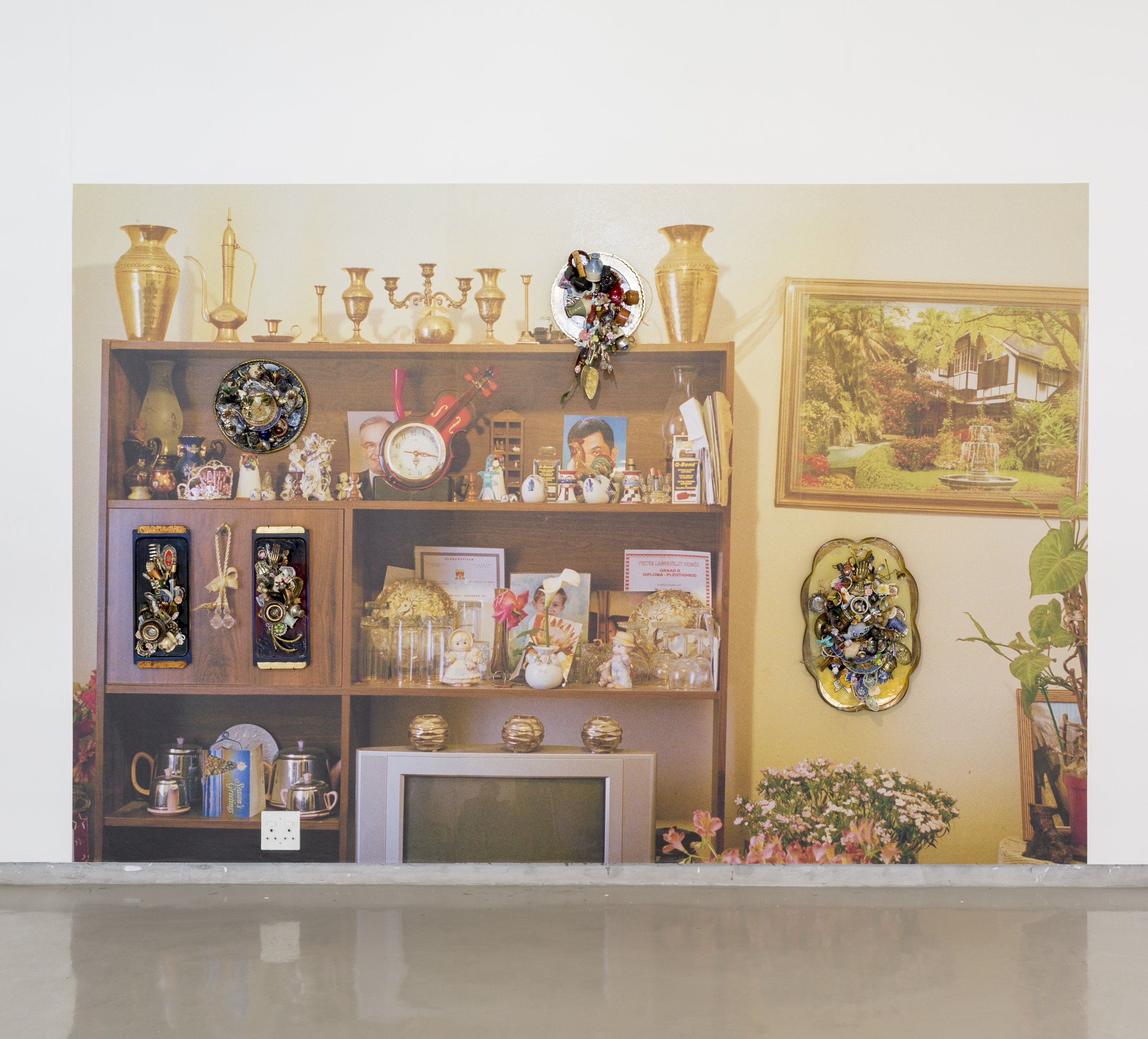 Installation view: Cape to Tehran - curated by     Sepideh Mehraban     |   Installation view credit: Kleinjan Groenewald courtesy of   Gallery MOMO