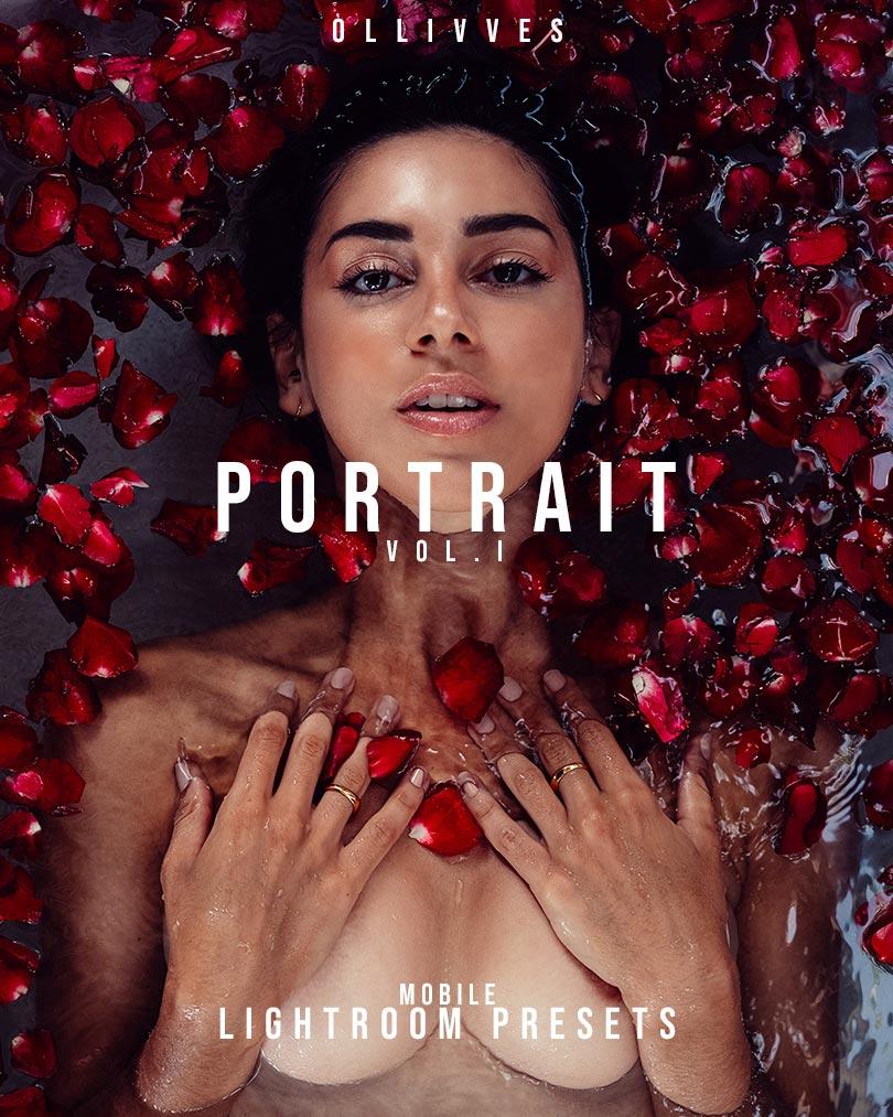 Portrait Presets Lightroom Mobile | Ollivves