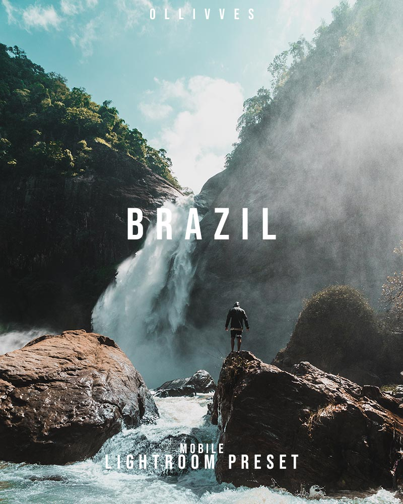 Brazil Lightroom Mobile Preset By Ollivves