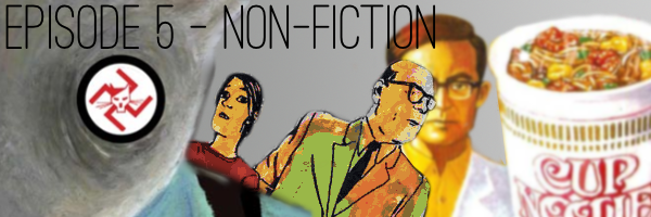 Consequential Podcast Episode 5 - Non-Fiction Comics
