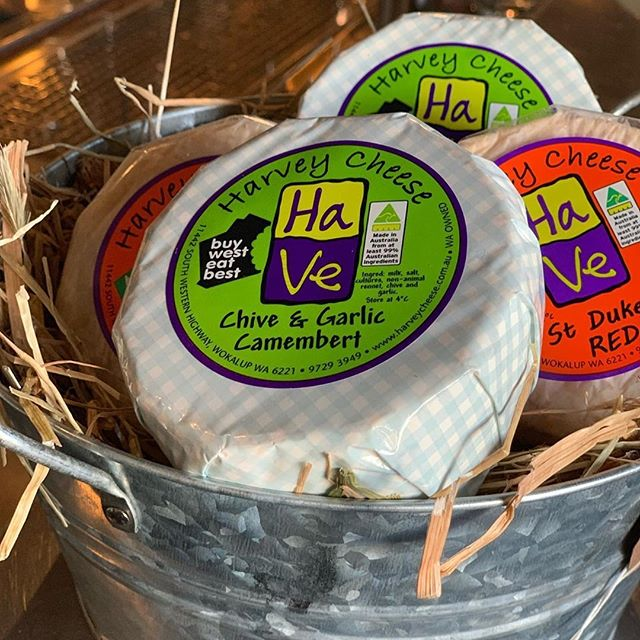 "@mojosbunbury have a brand new fridge filled with local produce and WA Cheeses! Check them out in Bunbury!⠀ ⠀ Reposting @mojosbunbury:⠀ ...⠀ ""Grab one of these yummy local @ha_ve_harvey_cheese to take home from our cheese fridge. A bottle of wine to match from our Bottleshop wouldn't go astray either 😂⠀ Proudly supporting local dairy farmers & @wacheeseaus .⠀ ⠀ #mojos #wacheeseweek2019 #wacheese #dairyfarmers #supportlocal #cheese #westisbest #australiassouthwest #bungeo"""
