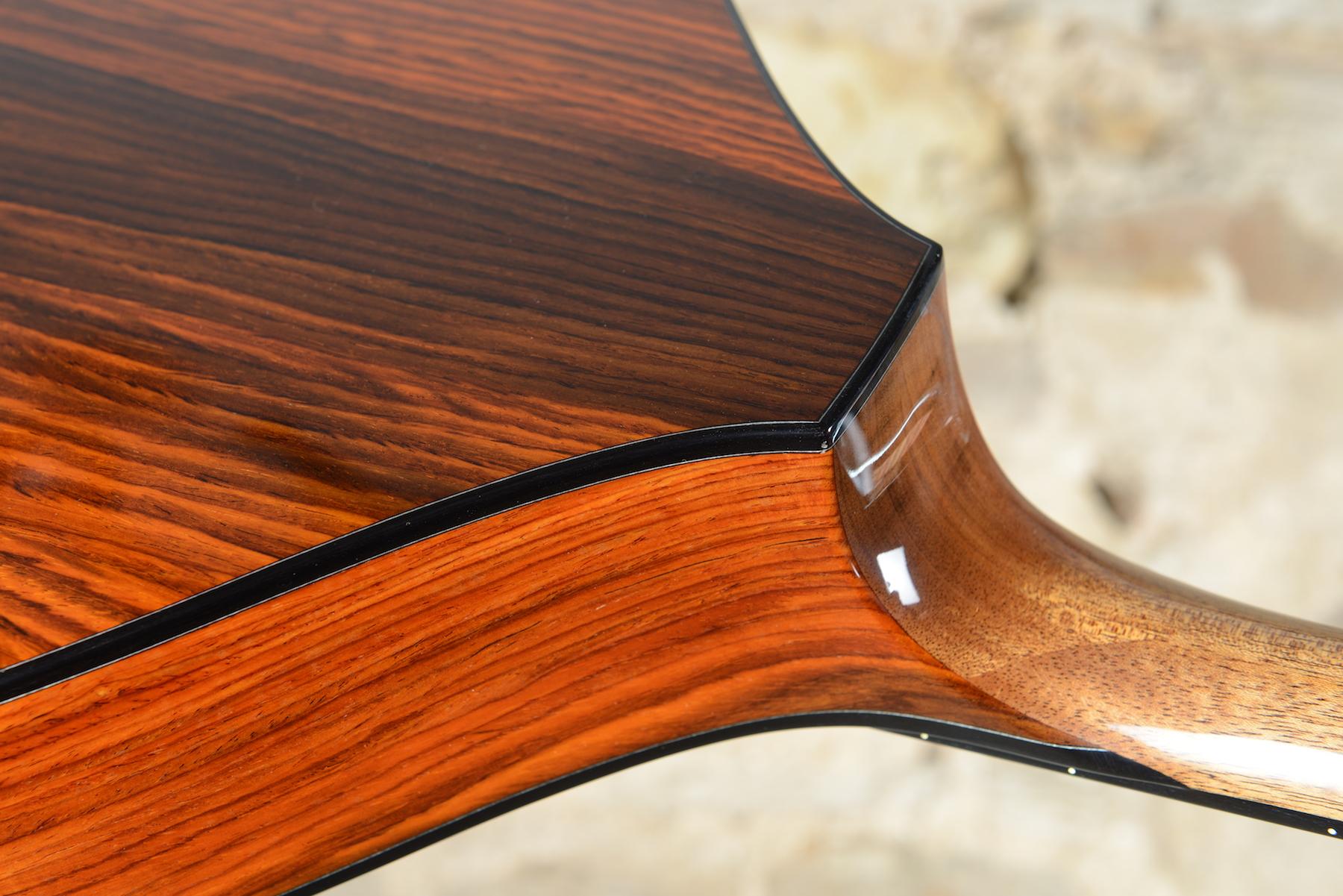 Portuguese Guitar / Sobell neck joint