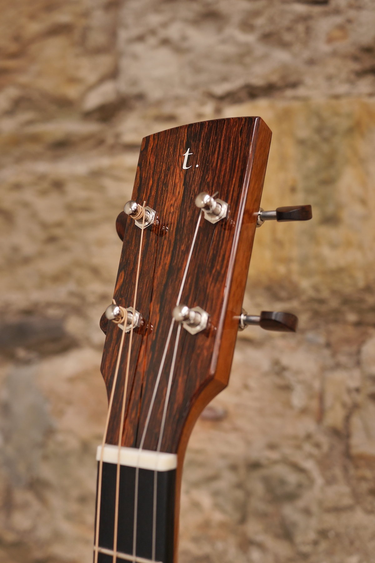 Waverly Tuners with Snakewood buttons