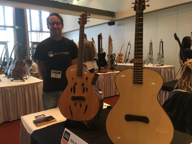 Eric Weigeshoff of Skytop Guitars, might chat and guitars!