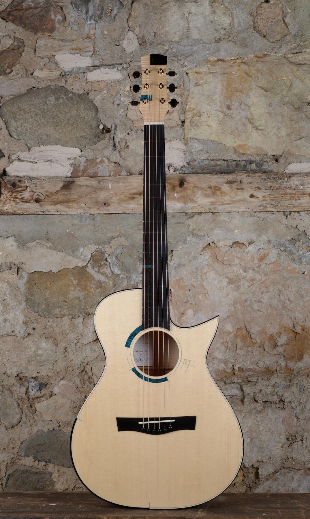 My 99th Guitar! A Maple/Swiss Moon Spruce Taran