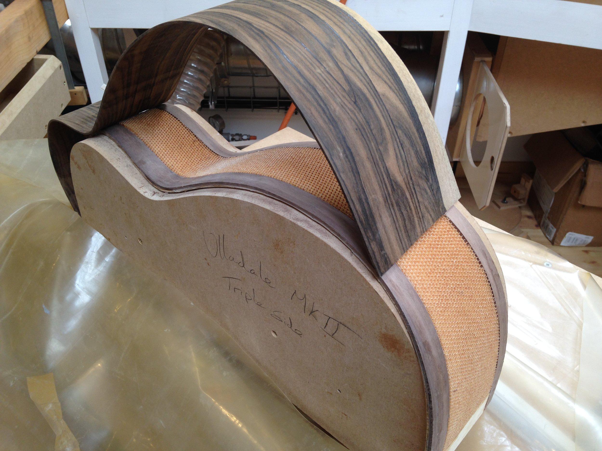 Copy of Taran Guitars Nomex Triple Sides 2015