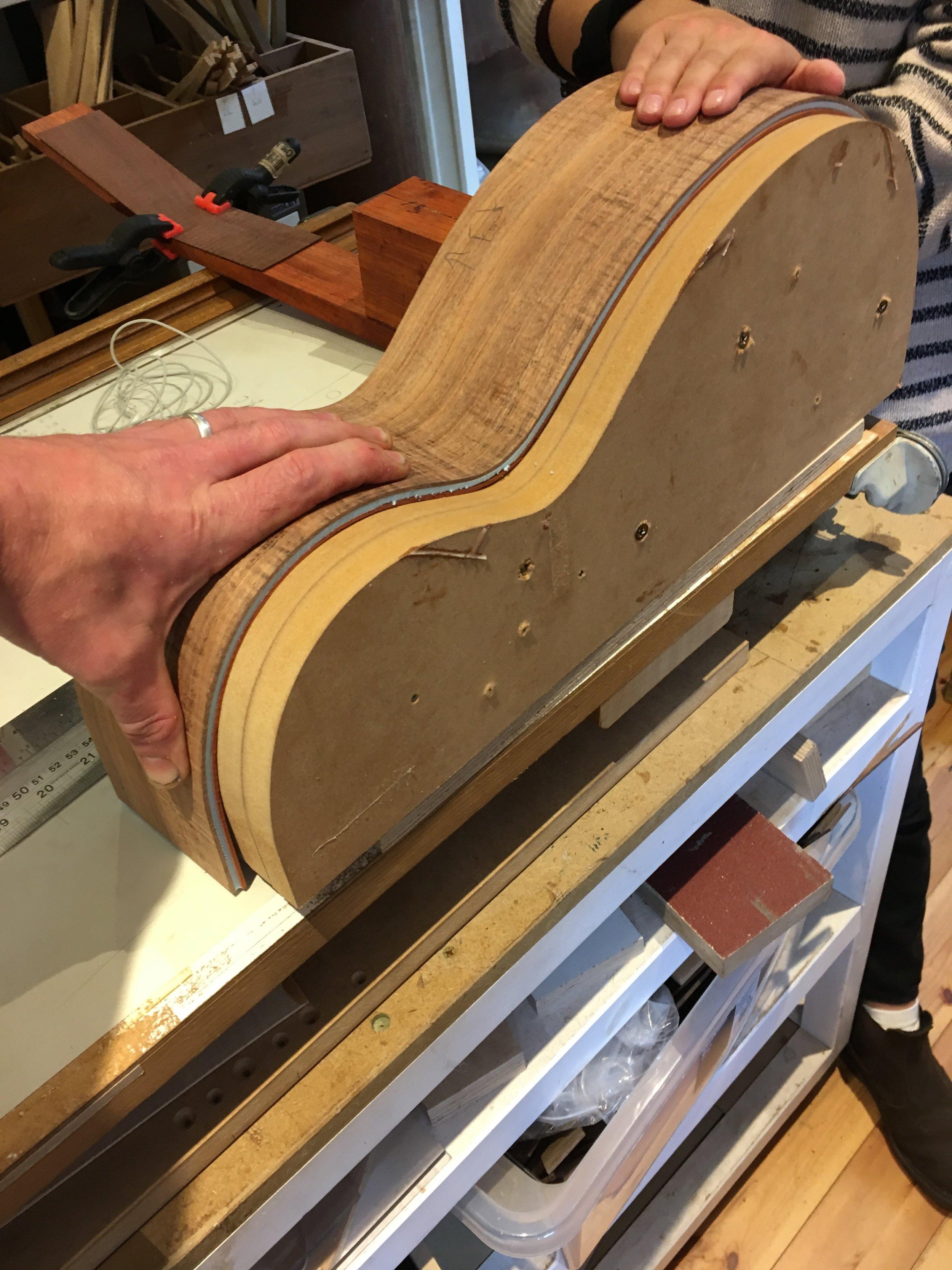 Copy of Taran Guitars Triple Sides 2018