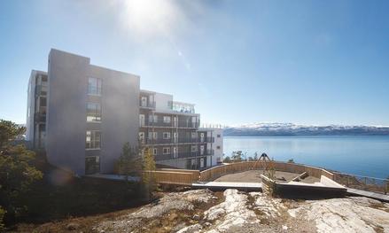 Tollevikbergan in Norway