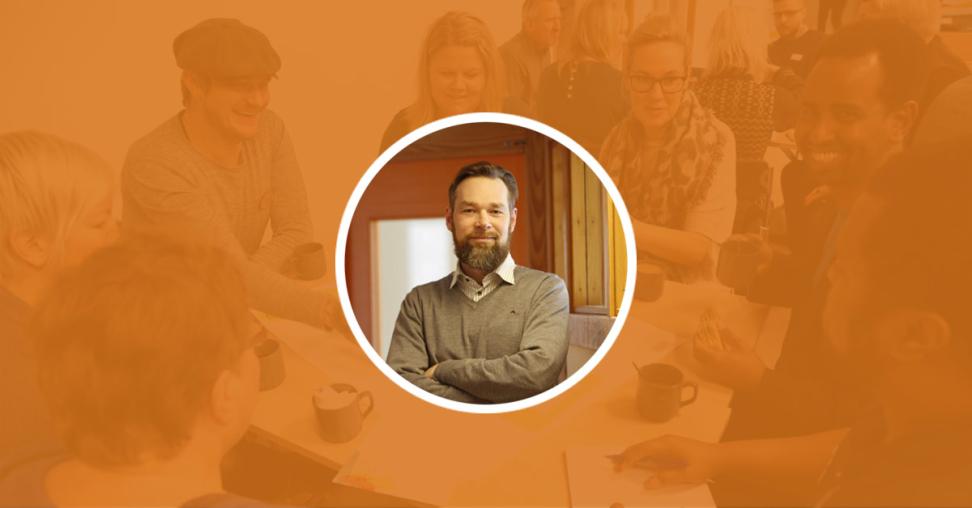 Erik Arrhen, Samverkansstrateg. Fotograf: Hossein Salmanzadeh