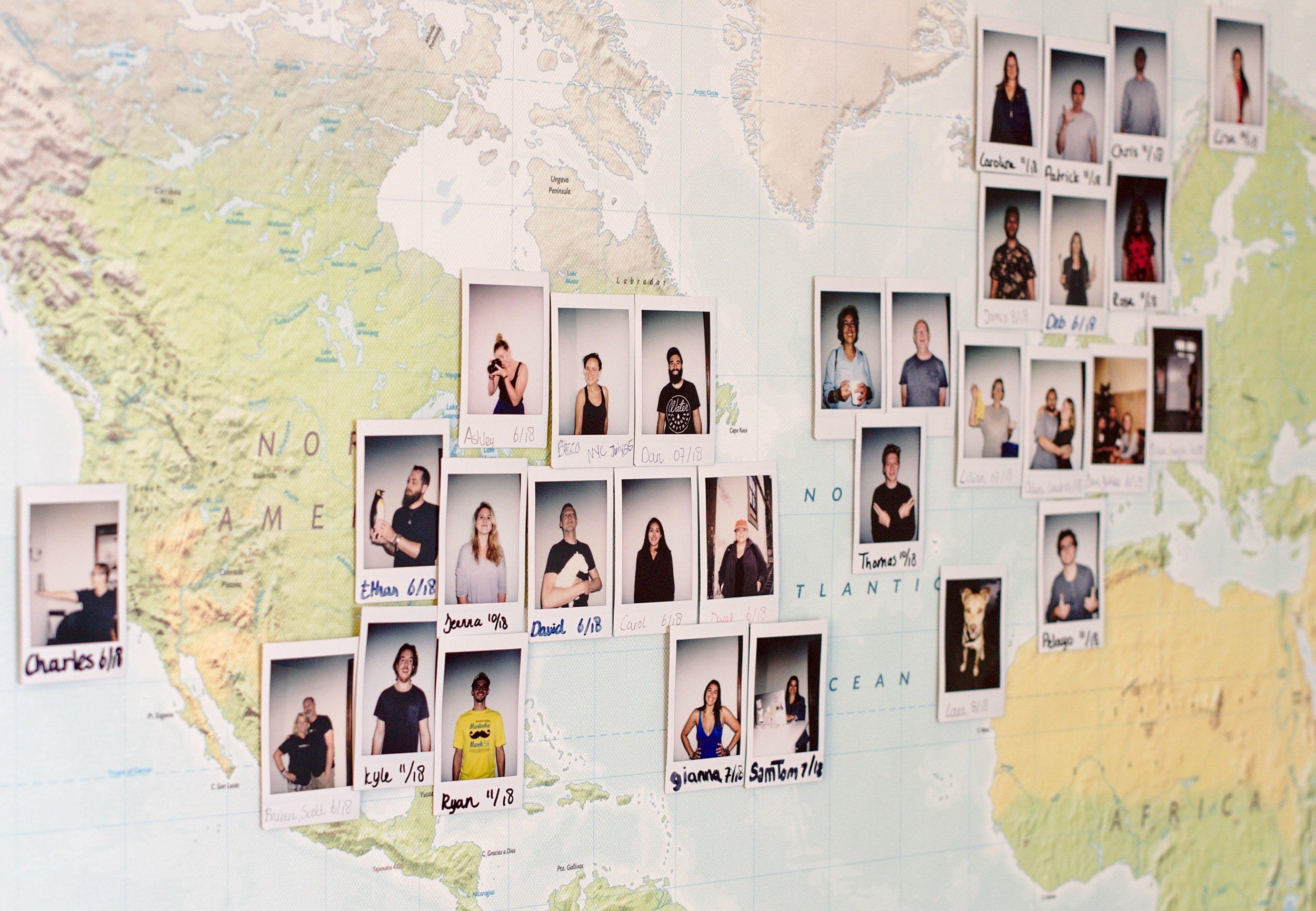 Nine world map