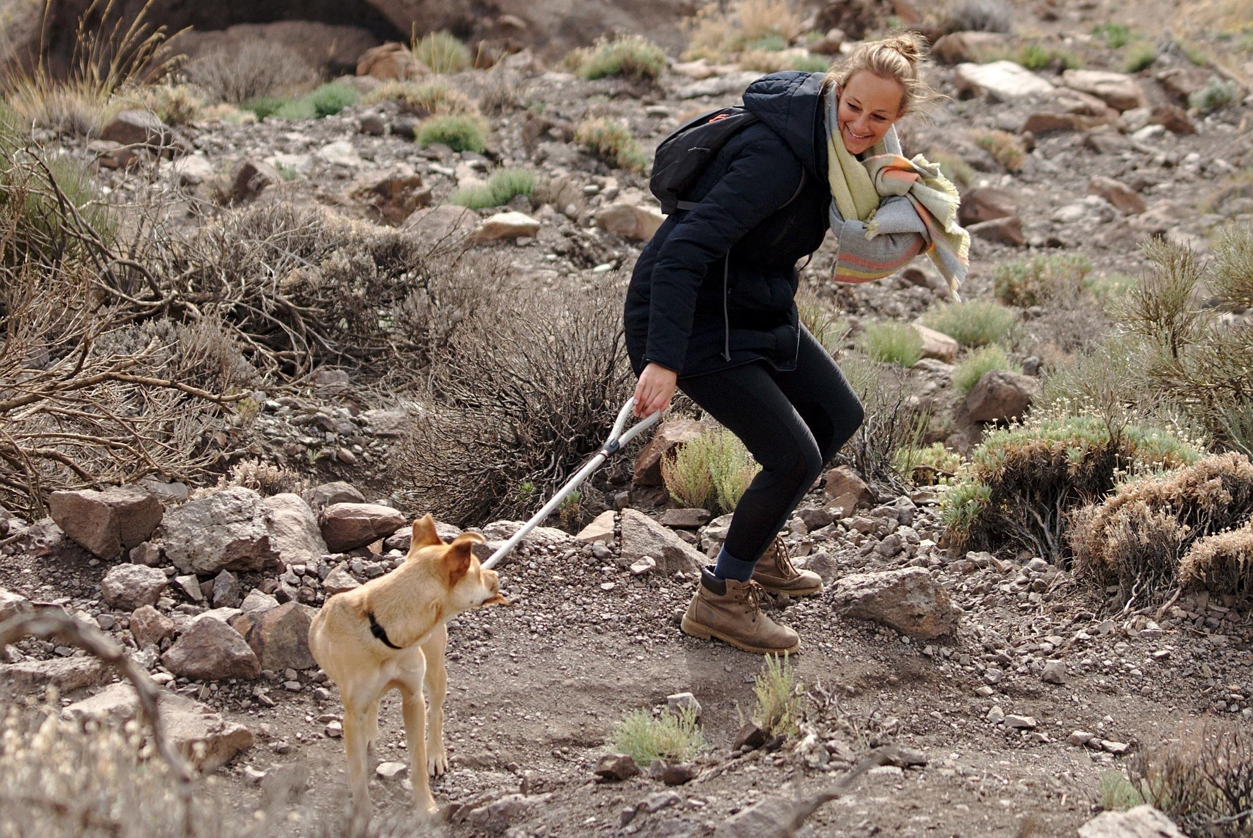 Anne and Lara @ el Teide - Photo by Novomonde