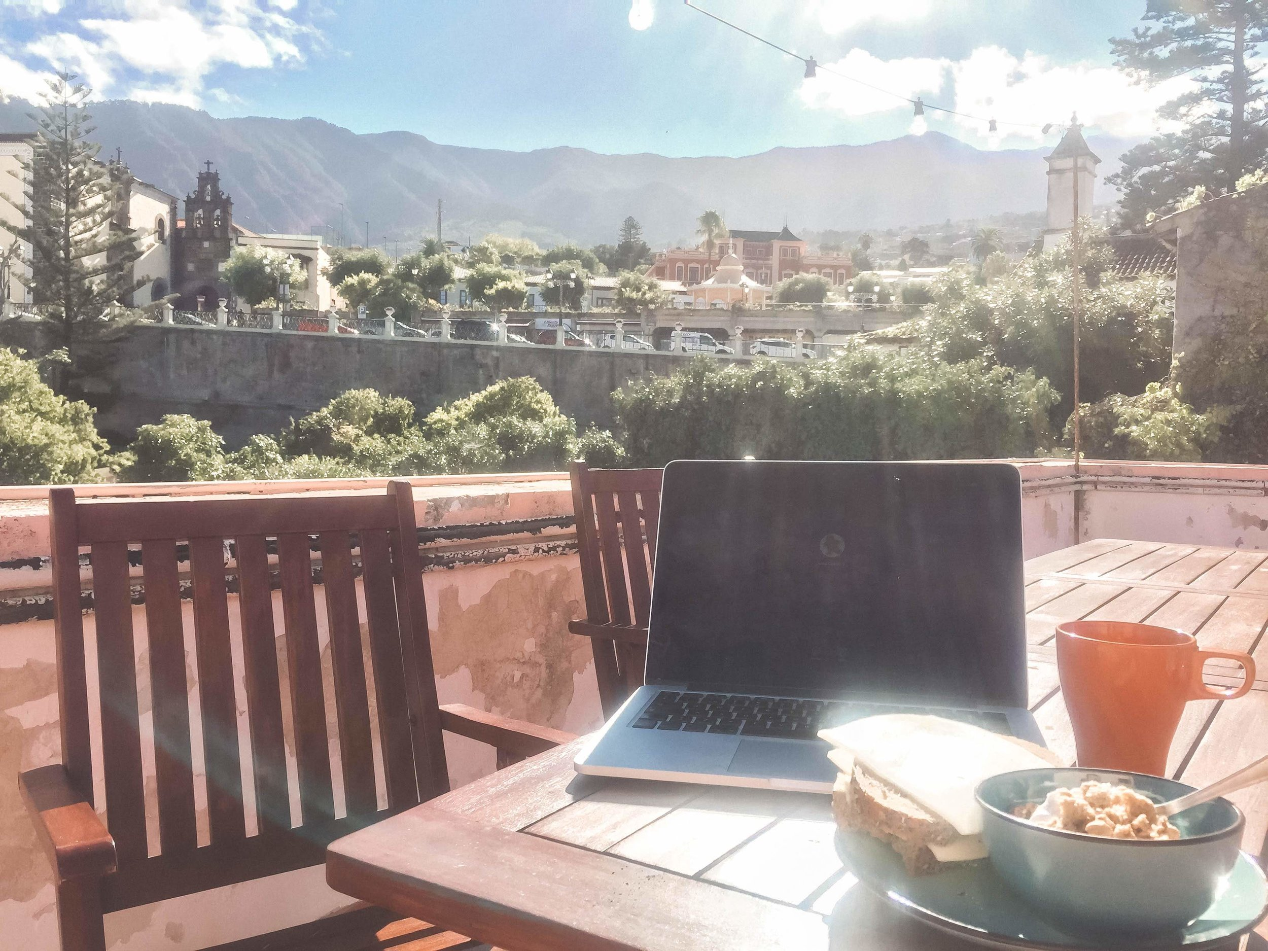 Why work in an office if you can work from here?