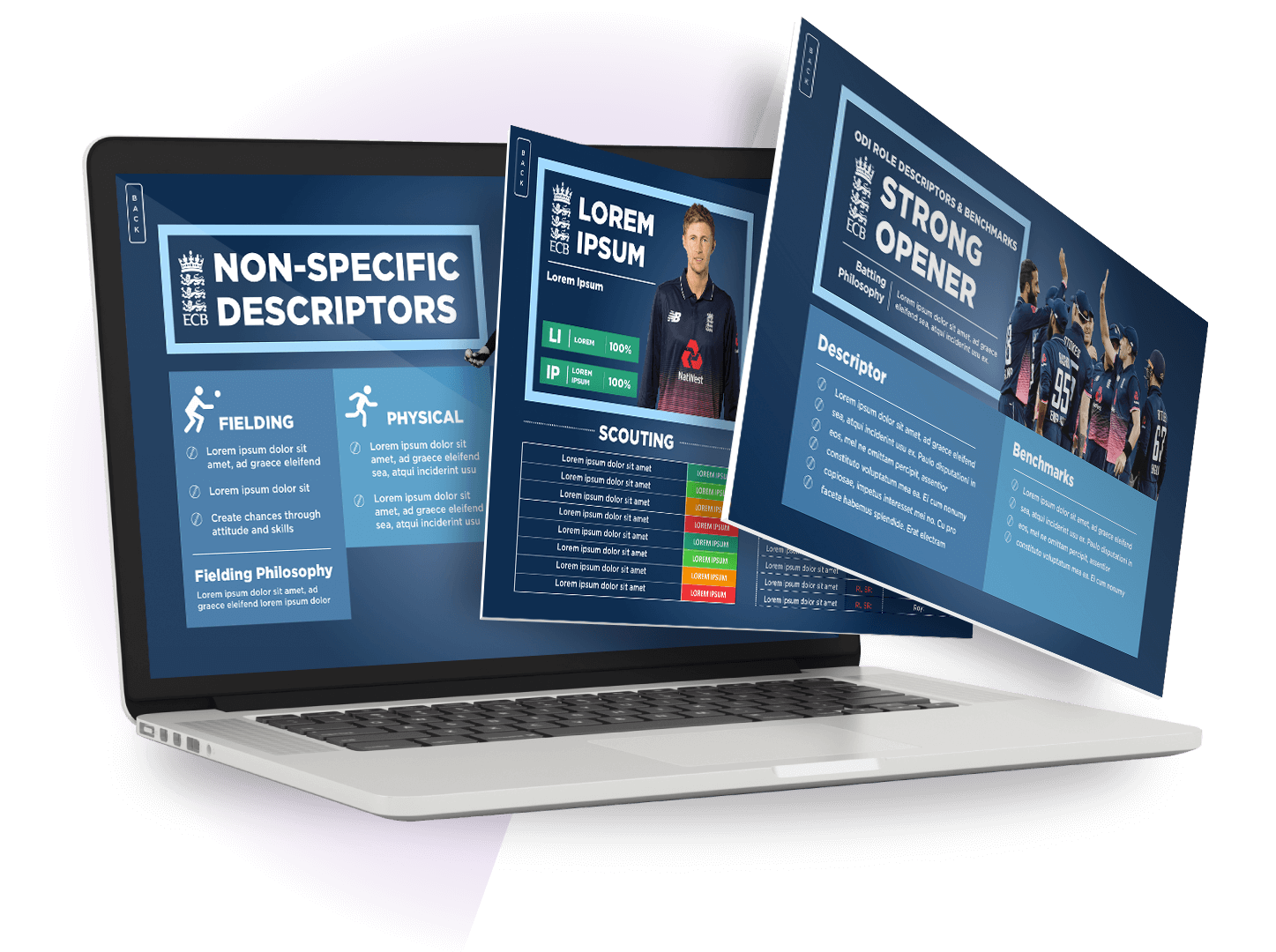 PRESENTING YOUR IMPACT - Our team of expert presentation designers make sure that your performance results get delivered in a meaningful and engaging way.Whether it's end of match analysis or season reviews, we make sure everyone on your team understands the impact of their performance.