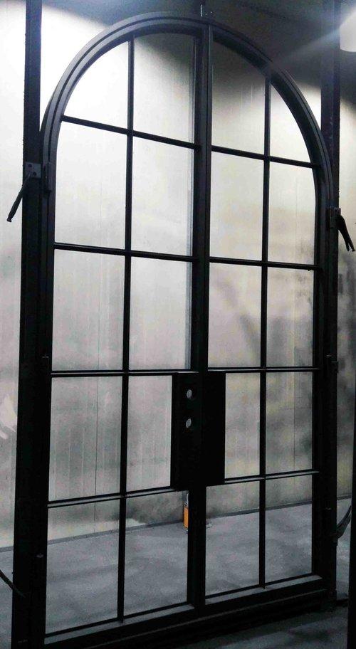Melbourne wrought iron doors