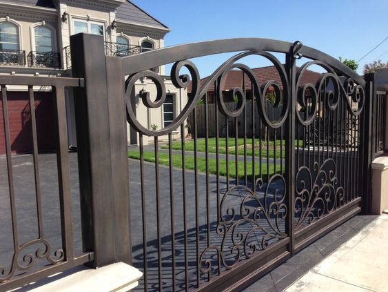 Crema - Wrought Iron Gate