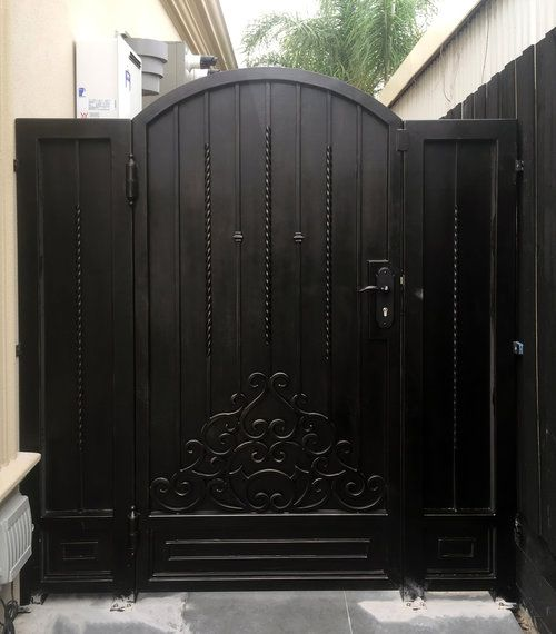 Asti - Wrought Iron Gate