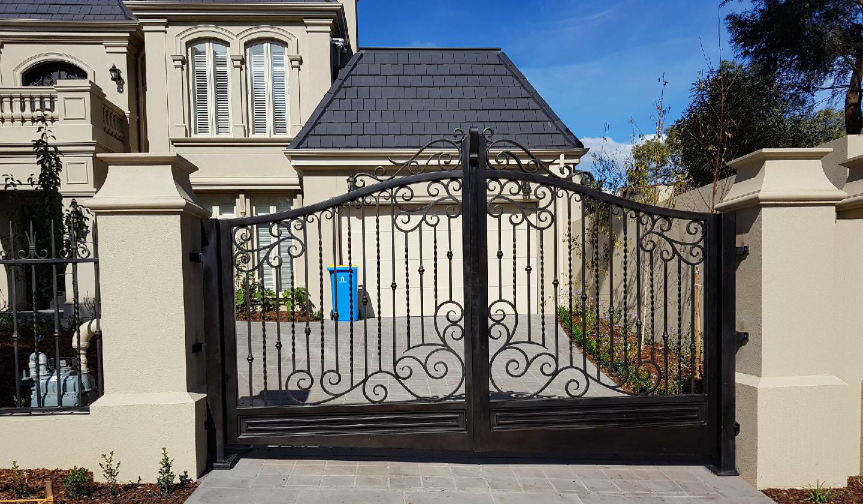 wrought iron gate melbourne