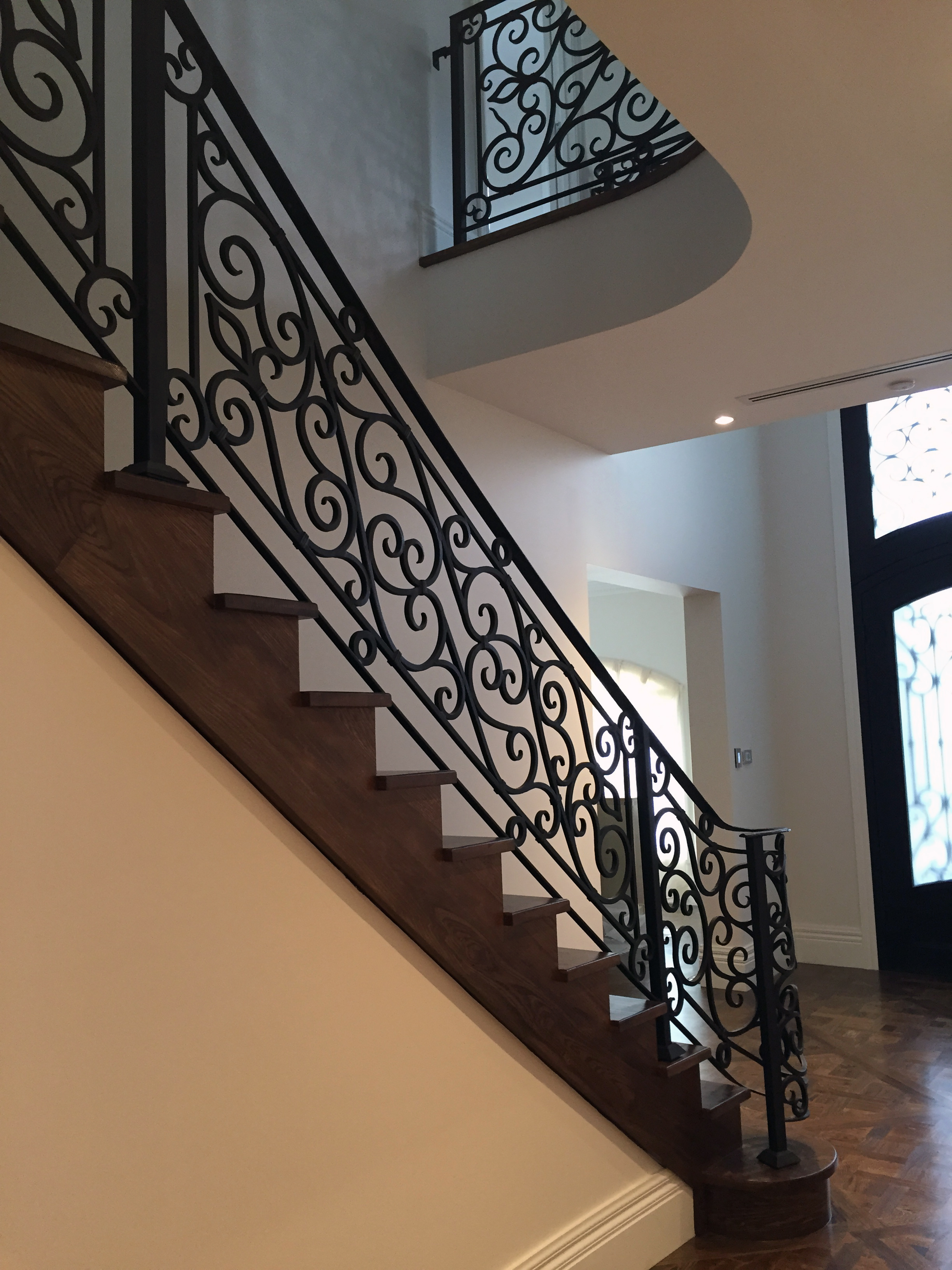 Wrought Iron Staircase | Melbourne