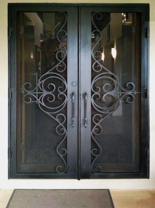 Wrought Iron Security Door | Melbourne