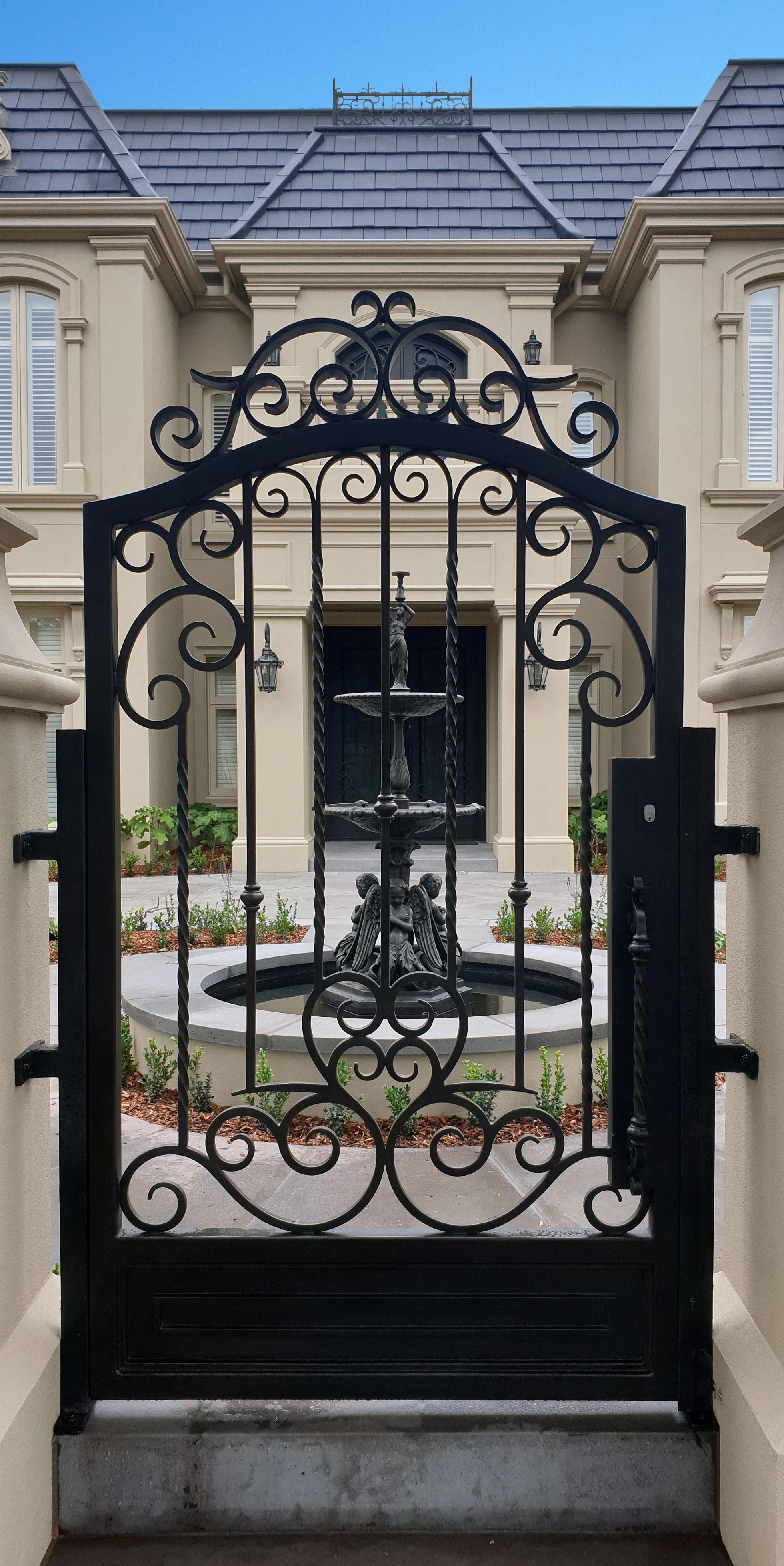Wrought Iron Gate | Melbourne