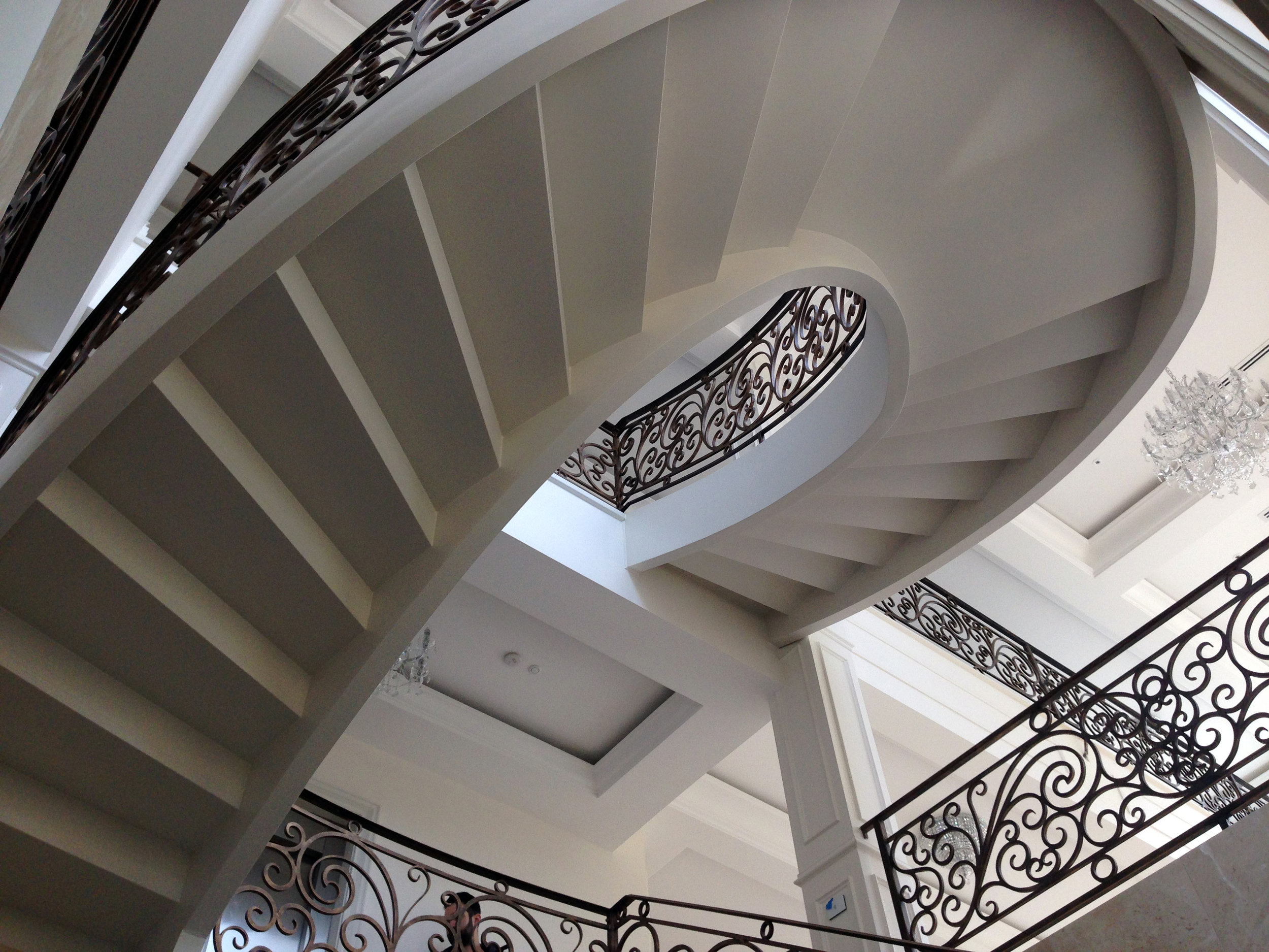 Wrought Iron Staircase railings, Melbourne.