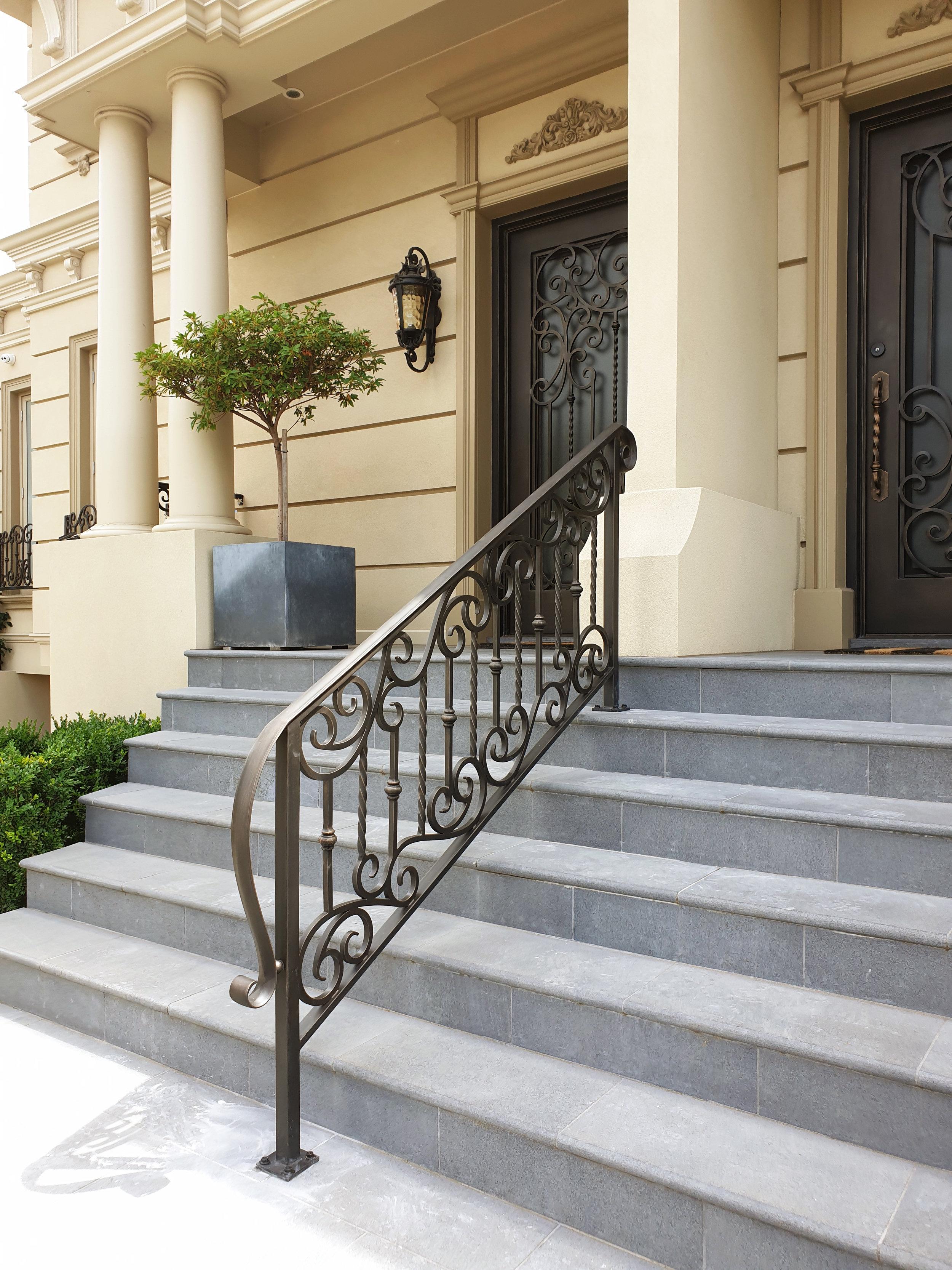 Wrought Iron railings | Adoore Iron Designs
