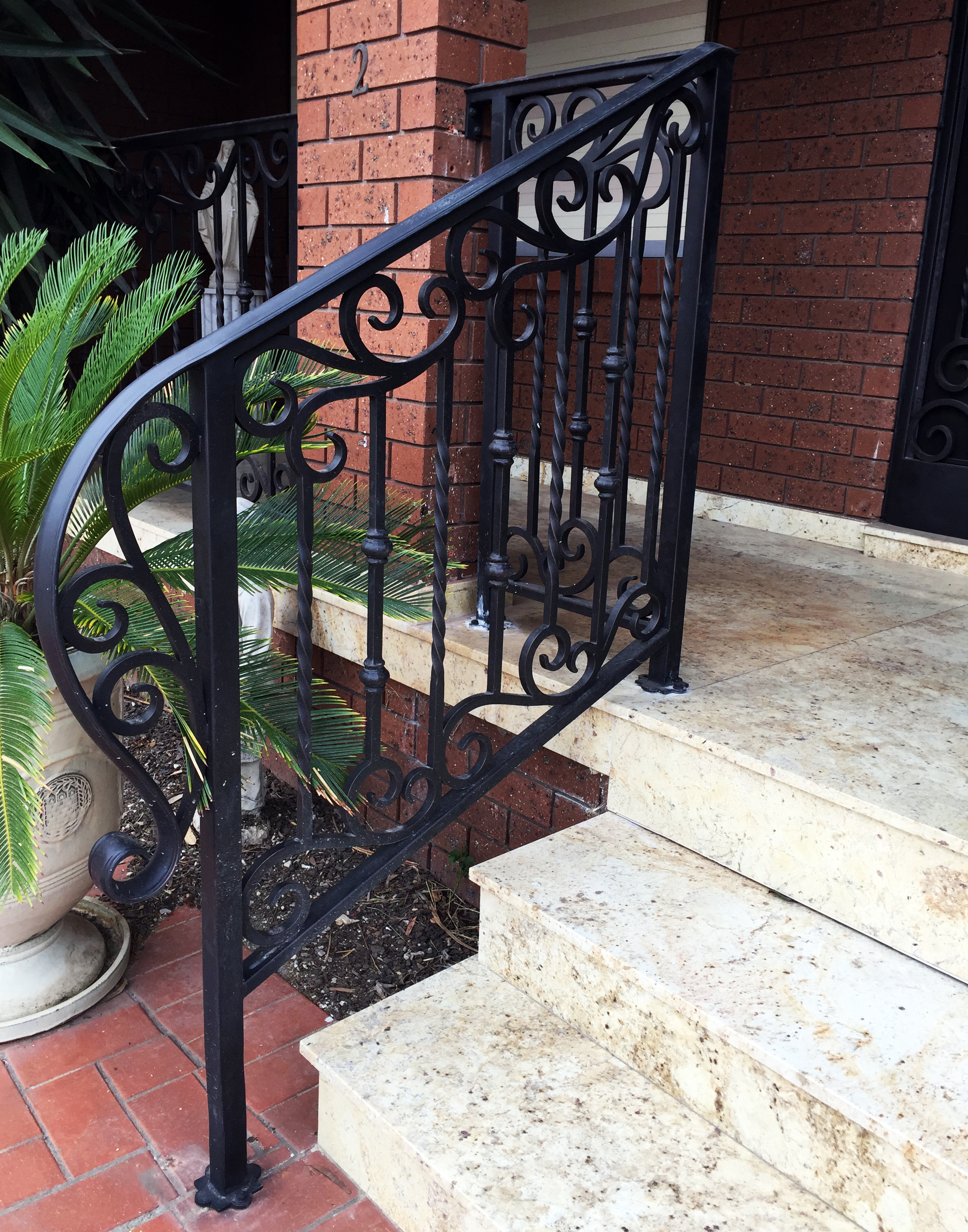 Wrought Iron Railings | Adoore Iron Designs.