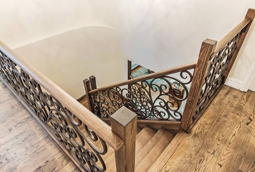 wrought iron staircase | melbourne wrought iron