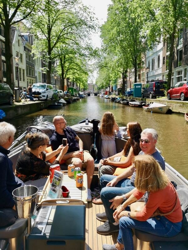 family and dog friendly boat tour