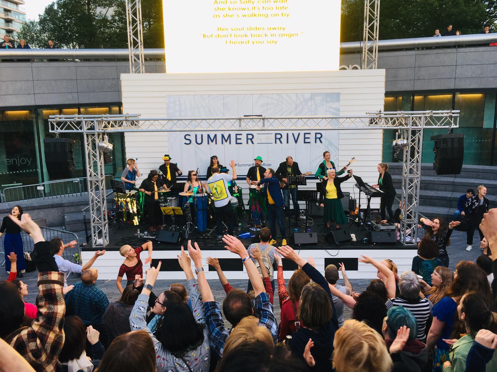 Sambaoke - Summer by the River Festival, London 2019