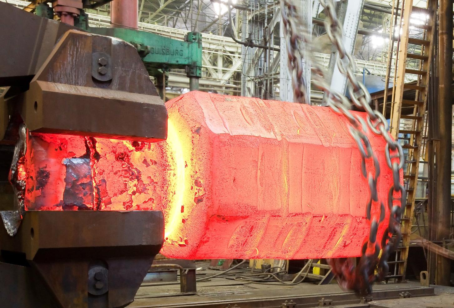 large press forging