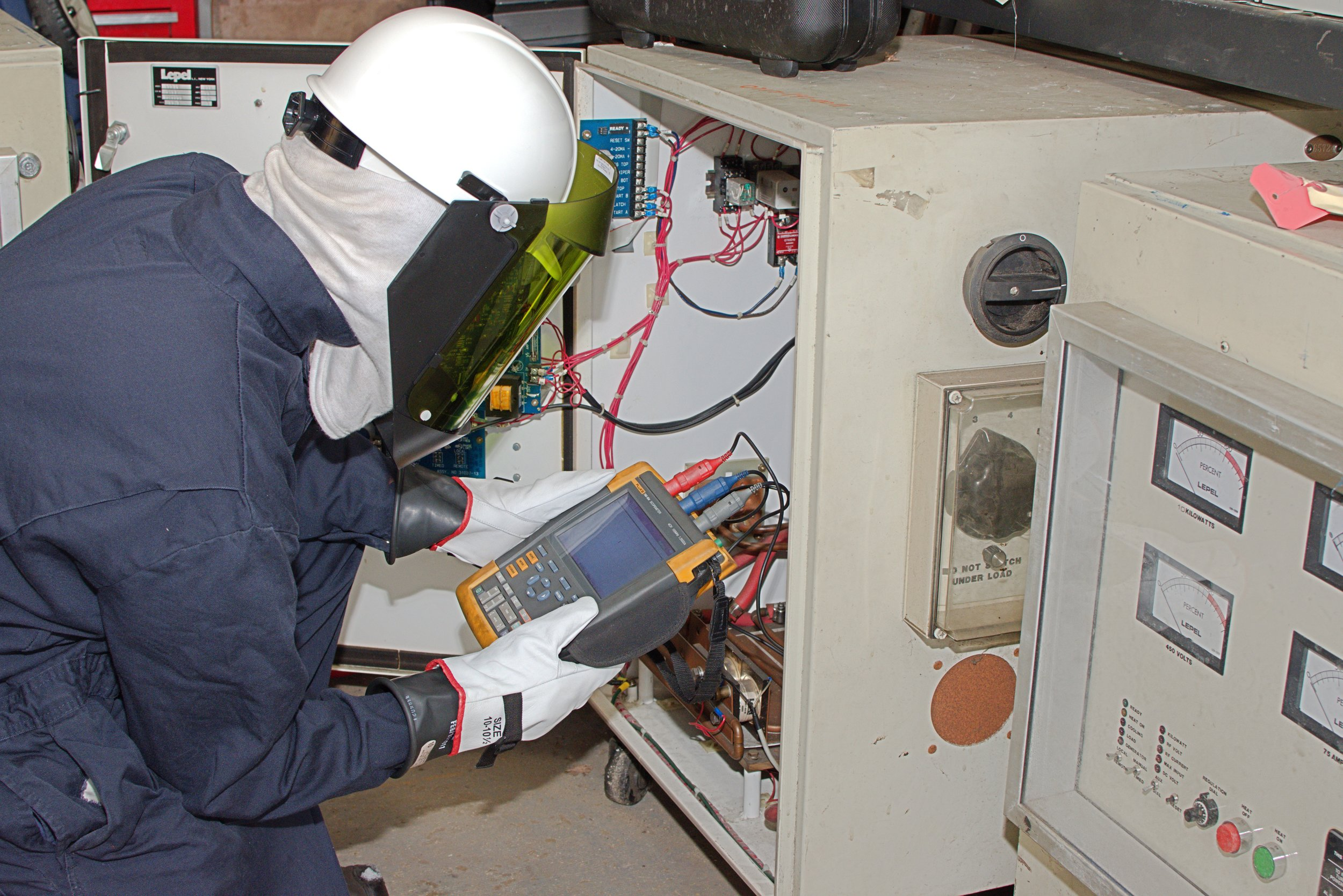 induction heater unit troubleshooting