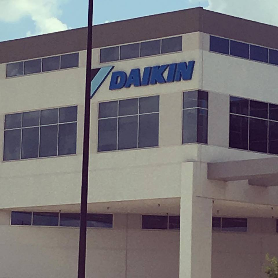 TONER Home Matters touring the largest tilt wall building in the world and learning about Daikin HVAC manufacturing process.