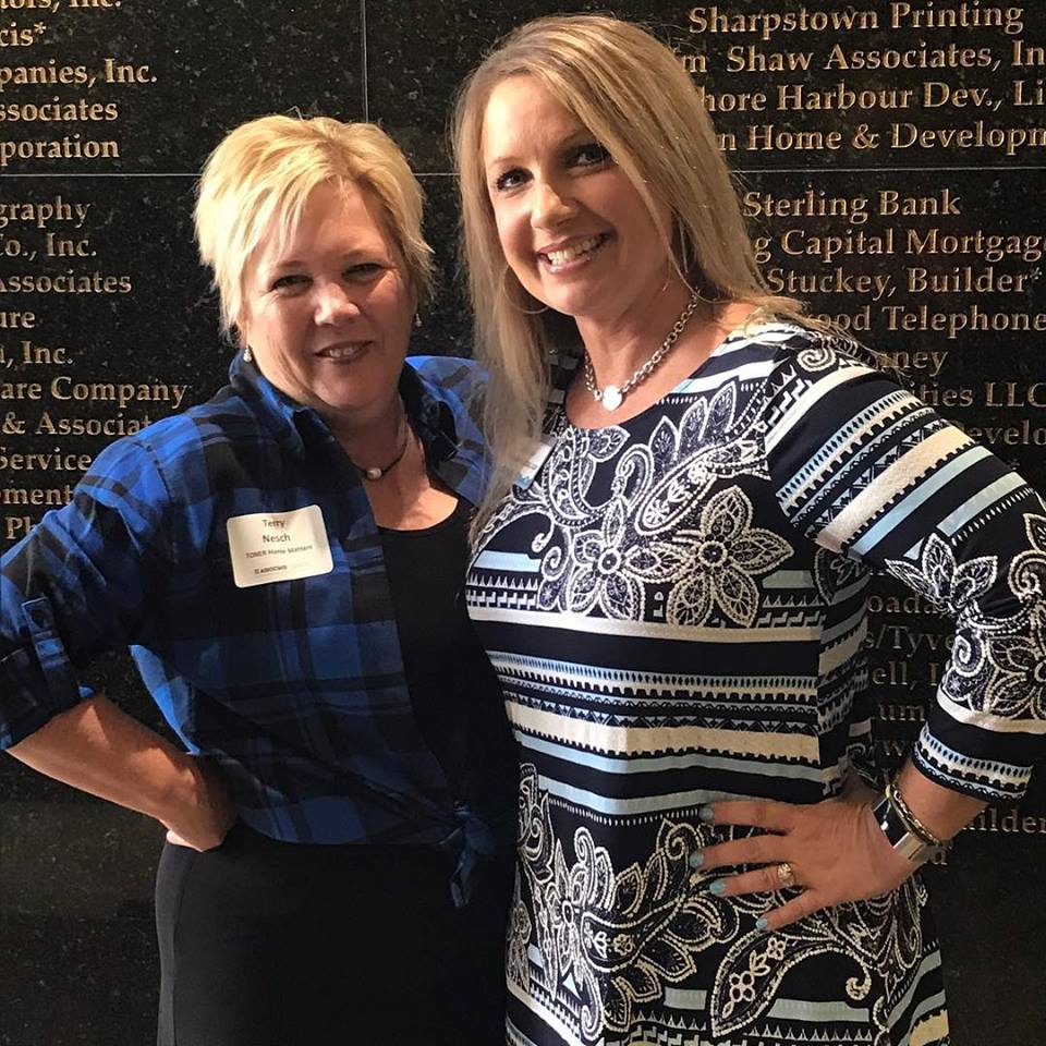 Terry Nesch of TONER Home Matters was the 2nd highest Recruiter for adding new members to the Greater Houston Builders Association (GHBA) , along with D'Ann Brown of StrucSure Warranty! Well done ladies.