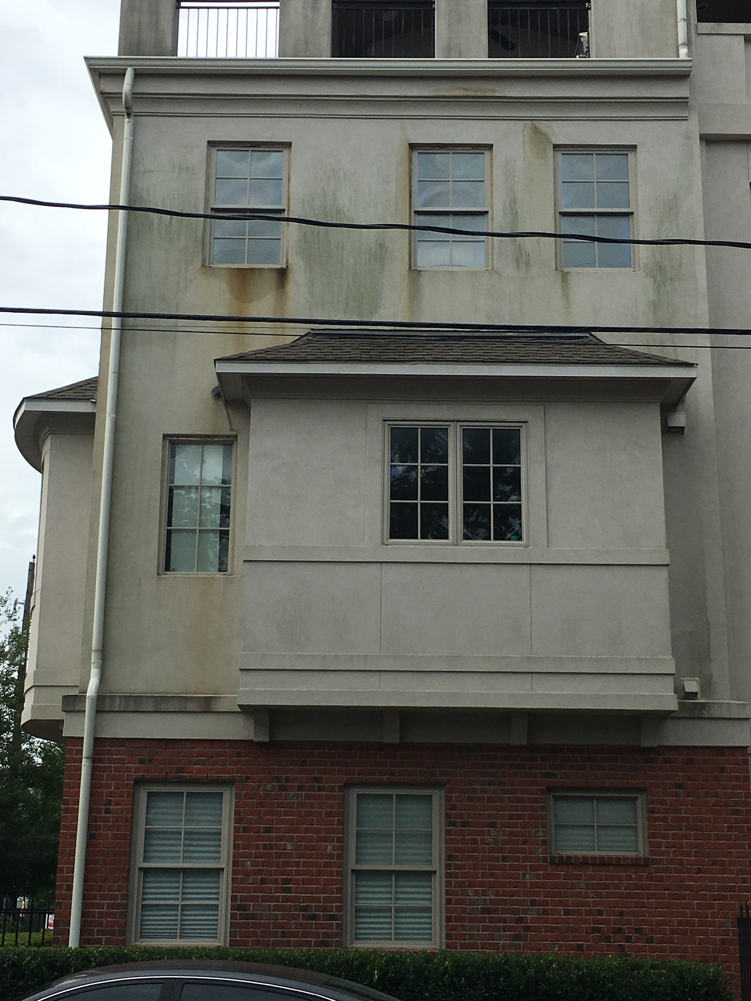 Things to consider when buying or building. Stucco does require maintenance.