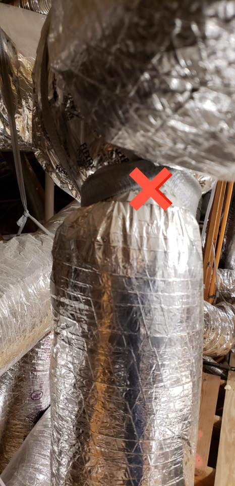 Tight fittings mean no insulation which will condense and drop moisture into the home. Tight fittings mean no insulation which will condense and drop moisture into the home.