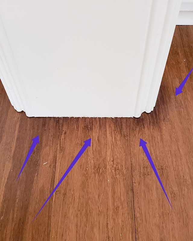 Listen up.  Vinyl or Laminate wood on Harvey slabs make for wet, moldy problems unless you truly were ready for them. Like 18 months later.  #TONERhomematters #forensicwalkthrough  #houstonconstruction #houstonhome #houstonrealestate #houstonbuilders #houstonbuilder #houstoncustomhomes #homewalkthrough #homeowner #buildinghouston #houstonarchitecture #houstonengineers #homedesign #afterharvey